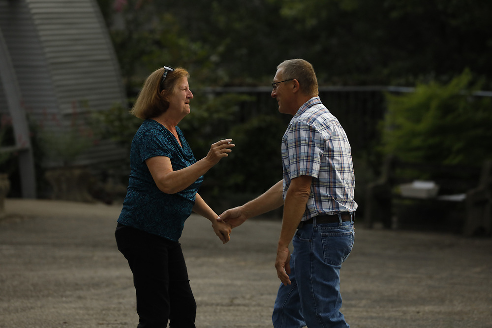Mandy Helton and Kris Johnson hosted a engagement party that turned out to be a surprise wedding for their guests, Saturday, Aug. 05, 2017  at Quonset Hut in Louisville.