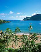 Kalapaki Bay, Kauai, Hawaii, USA<br />