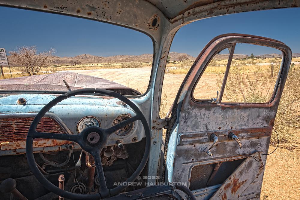 Rusting Car, Namib Desert