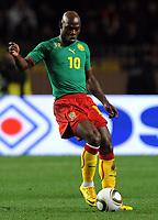 Fotball<br /> Italia v Kamerun<br /> Foto: Inside/Digitalsport<br /> NORWAY ONLY<br /> <br /> Achille Emana (Camerun)