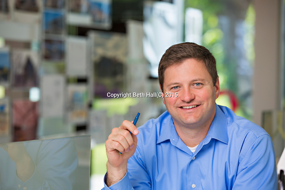 Environmental portraits and head shots of Core Architects in Rogers, Arkansas