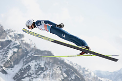 21.03.2014, Planica, Ratece, SLO, FIS Weltcup Ski Sprung, Planica, Grossschanze Herren Einzel, im Bild Yuta Watase // Yuta Watase during the mens individual large Hill of the FIS Ski jumping Worldcup Cup finals at Planica in Ratece, Slovenia on 2014/03/21. EXPA Pictures © 2014, PhotoCredit: EXPA/ Newspix/ Irek Dorozanski<br /> <br /> *****ATTENTION - for AUT, SLO, CRO, SRB, BIH, MAZ, TUR, SUI, SWE only*****