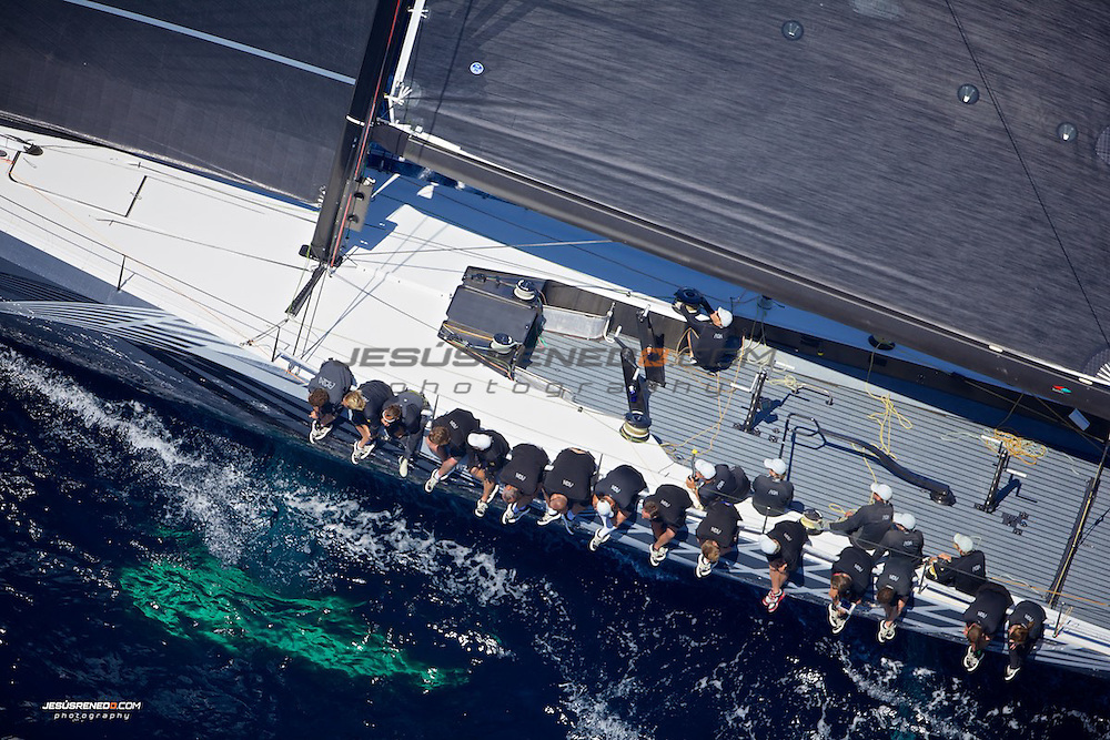 Palmavela 2014 , First day of racing, aerial images