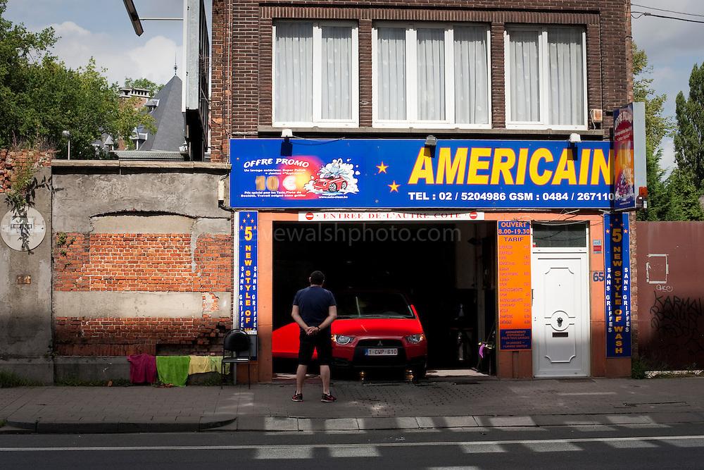 Americain Car Wash, Brussels.