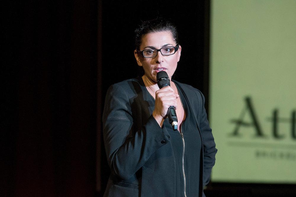 Kira Soltanovich @ 2016 Brickell Comedy Festival