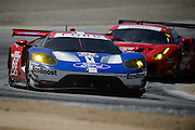 April 29-May 1, 2016: IMSA Monterey Sportscar Grand Prix. #66 Joey Hand, Dirk Muller, Ford Chip Ganassi Racing, Ford GT GTLM