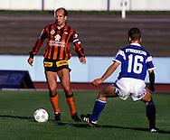 13.05.1990, Lahti, Finland. .Jalkapalloliiga/Finnish League, Reipas Lahti v MP Mikkeli..Harri Munukka - Reipas.©Juha Tamminen