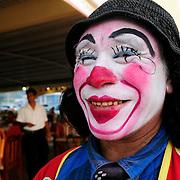 Clowns, Laguna de Rosario meets Gulf of Mexico, Paraiso, Tabasco, Mexico, America