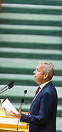 Leader of the Parliamentary Group OeVP Reinhold Lopatka speaks during a presentation of the new foreign minister and tightening of asylum law at Austrian Parliament Building, Innere Stadt<br /> Picture by EXPA Pictures/Focus Images Ltd 07814482222<br /> 27/04/2016<br /> ***UK &amp; IRELAND ONLY***
