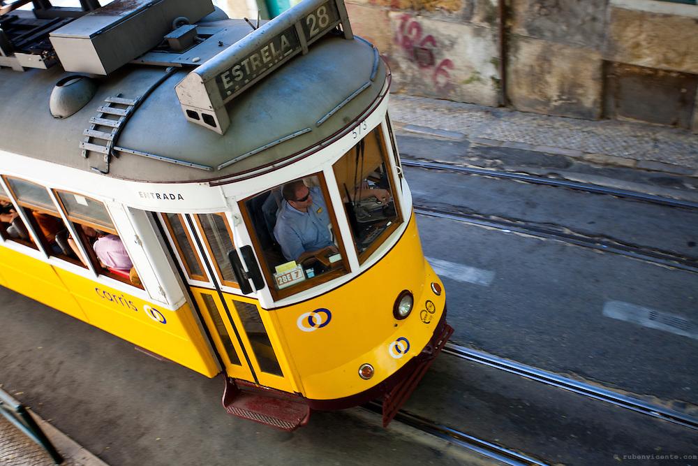 Electrico 28. Lisbon, Portugal