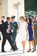 070715 Spanish Royals Meet President of Peru Ollanta Humala Tasso