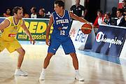 DESCRIZIONE : Bormio Torneo Internazionale Gianatti Italia Australia <br /> GIOCATORE : Massimo Bulleri<br /> SQUADRA : Nazionale Italia Uomini <br /> EVENTO : Bormio Torneo Internazionale Gianatti <br /> GARA : Italia Australia <br /> DATA : 03/08/2007 <br /> CATEGORIA : Palleggio<br /> SPORT : Pallacanestro <br /> AUTORE : Agenzia Ciamillo-Castoria/G.Ciamillo<br /> Galleria : Fip Nazionali 2007 <br /> Fotonotizia : Bormio Torneo Internazionale Gianatti Italia Australia<br /> Predefinita :