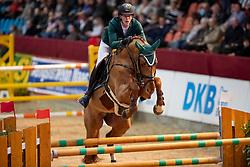 WOLF Cedric (GER), Louisville<br /> Neustadt-Dosse - CSI 2019<br /> 2. Qualifikation Youngster Tour für 7 und 8 jährige Pferde<br /> 11. Januar 2019<br /> © www.sportfotos-lafrentz.de/Stefan Lafrentz