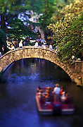 Image of the River Walk in San Antonio, Texas, American Southwest