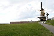 Vlissingen is een stad en gemeente in de Nederlandse provincie Zeeland, gelegen aan de noordzijde van de monding van de Westerschelde op Walcheren.<br /> <br /> Vlissingen is a city and municipality in the Dutch province of Zeeland, located on the north side of the mouth of the Western Scheldt on Walcheren.<br /> <br /> Op de foto / On the photo:  Uncle Beach - De strategische ligging van de stad aan de monding van de Westerschelde heeft zijn sporen nagelaten in de stad. Tijdens de Tweede Wereldoorlog (1940-1945) is er hard gevochten in de stad en op de Westerschelde. Rondom de Oranjemolen is het gebied 'Uncle Beach' ingericht. <br /> <br /> Uncle Beach - The strategic location of the city at the mouth of the Western Scheldt has left its mark in the city. During World War II (1940-1945) there has been heavy fighting in the city and on the Westerschelde. Around the Oranjemolen is Uncle Beach 'area furnished.