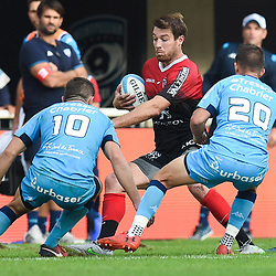 Theo BELAN of Toulouse  during the Top 14 match between Montpellier and Toulouse on October 19, 2019 in Montpellier, France. (Photo by Alexandre Dimou/Icon Sport) - Theo BELAN - Altrad Stadium - Montpellier (France)