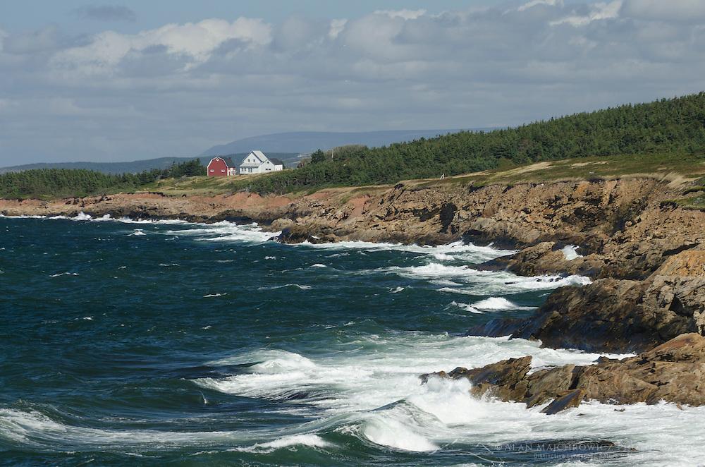 Seaside home near Margaree Harbour, Cape Breton Island Nova Scotia