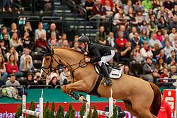 EHNING Marcus (GER), Pret a Tout#<br /> Leipzig - Partner Pferd 2020<br /> Championat vonLeipzig<br /> Springprfg. mit Stechen, international<br /> Höhe: 1.50 m<br /> 18. Januar 2020<br /> © www.sportfotos-lafrentz.de/Stefan Lafrentz