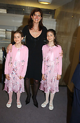 PRINCESS DIMITRI LOBANOV-ROSTOVSKY and her daughters Left SOPHIA and right TATIANNA at a performance by the London Childrens Ballet of 'The Little Princess' at The Peacock Theatre, Portugal Street, London WC2 on 19th May 2005.<br />