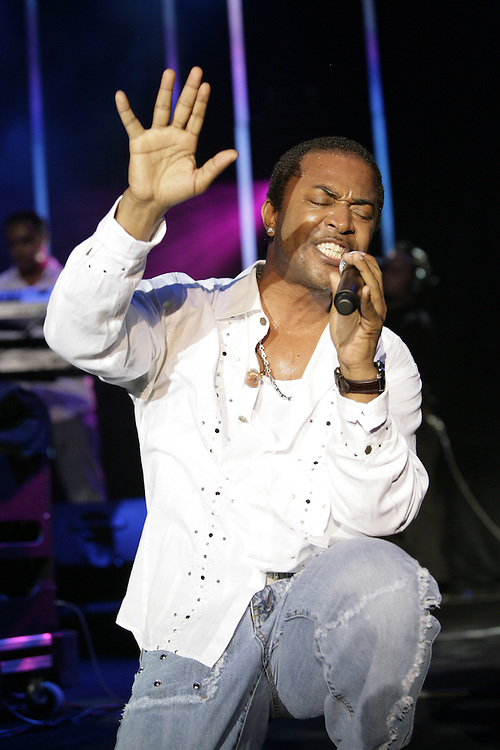 Kool & The Gang - Lavell Evans, performing at the 43rd Montreux Jazz Festival, Switzerland.