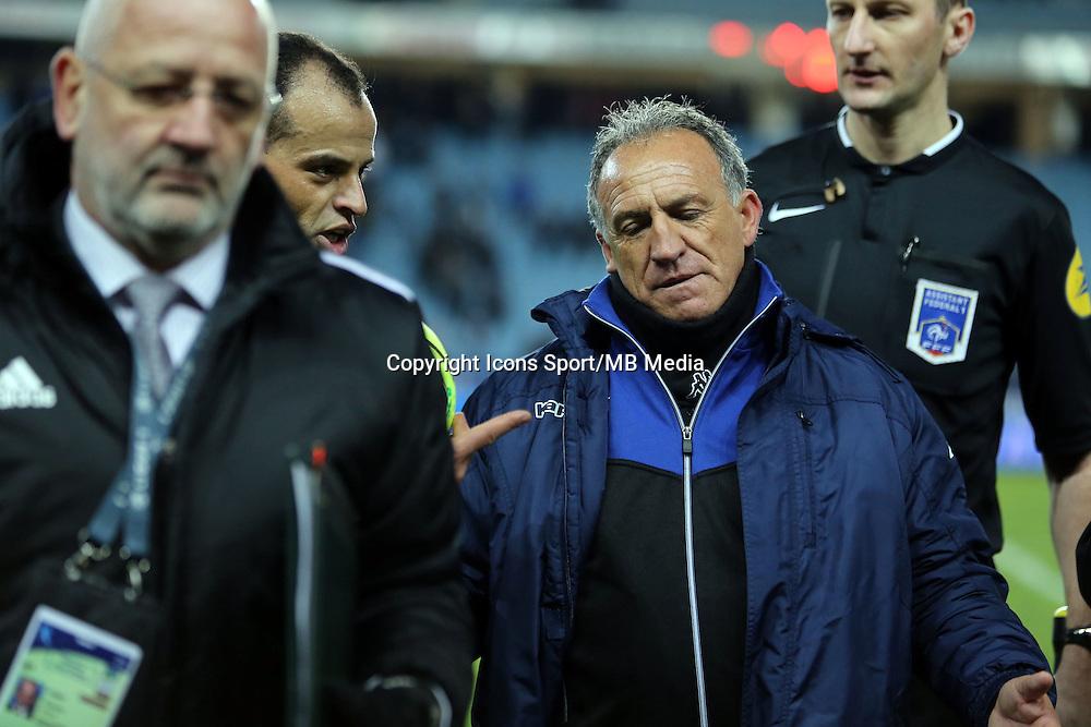 Said ENNJIMI / Ghislain PRINTANT - 24.01.2015 - Bastia / Bordeaux  - 22eme journee de Ligue1<br /> Photo : Michel Maestracci / Icon Sport *** Local Caption ***