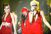 Alicia Keys, Gwen Stefani and Missy Elliott
