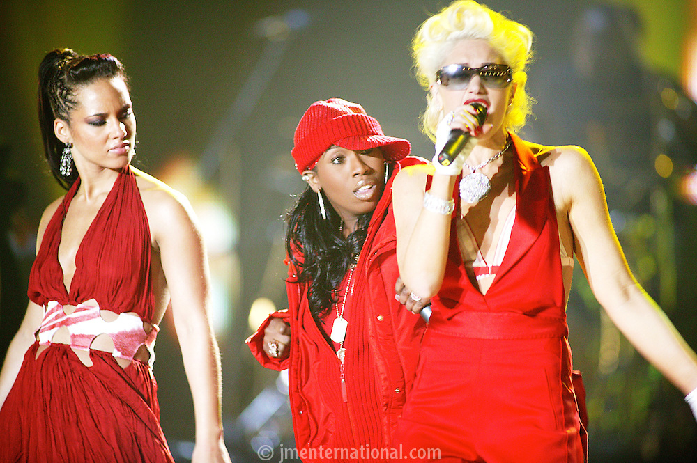Alicia Keys, Gwen Stefani and Missy Elliott