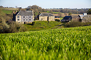Hergest Court Estate - once home to Black Vaughan and his legendary dog - a story believed to have inspired Sir Authur Conan Doyle's the Hound of the Baskervilles, Kington, Herefordshire, United Kingdom