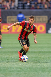 October 21, 2018 - Atlanta, GA, U.S. - ATLANTA, GA - OCTOBER 21: Atlanta United midfielder Eric Remedi (11) during the MLS game between the Atlanta United and the Chicago Fire on October 21, 2018 at the Mercedes-Benz Stadium in Atlanta, GA. Atlanta United FC secured a place in next year's CONCACAF Champions League with a 2-1 victory against the visiting Chicago Fire. (Photo by John Adams/Icon Sportswire) (Credit Image: © John Adams/Icon SMI via ZUMA Press)