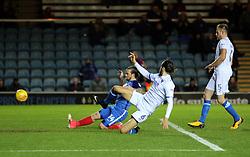 Jack Marriott of Peterborough United scores the opening goal of the game - Mandatory by-line: Joe Dent/JMP - 21/11/2017 - FOOTBALL - ABAX Stadium - Peterborough, England - Peterborough United v Portsmouth - Sky Bet League One