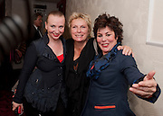 JUDITH OWEN; JENNIFER SAUNDERS; RUBY WAX, Press night for Ruby Wax- Losing it. Duchess theatre. London. 1 September 2011. <br /> <br />  , -DO NOT ARCHIVE-&copy; Copyright Photograph by Dafydd Jones. 248 Clapham Rd. London SW9 0PZ. Tel 0207 820 0771. www.dafjones.com.