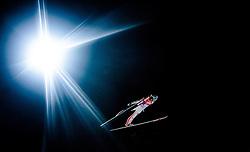 05.01.2016, Paul Ausserleitner Schanze, Bischofshofen, AUT, FIS Weltcup Ski Sprung, Vierschanzentournee, Qualifikation, im Bild Anze Lanisek (SLO) // Anze Lanisek of Slovenia during his Qualification Jump for the Four Hills Tournament of FIS Ski Jumping World Cup at the Paul Ausserleitner Schanze, Bischofshofen, Austria on 2016/01/05. EXPA Pictures © 2016, PhotoCredit: EXPA/ JFK