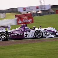 #34 Porsche RS Spyder - Van Merksteijn Motorsport (Drivers - Peter Van Merksteijn and Jos Verstappen) LMP2, Le Mans Series Silverstone 1000KM 2008