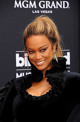 Tyra Banks at the 2018 Billboard Music Awards held at the MGM Grand Garden Arena in Las Vegas, USA on May 20, 2018.