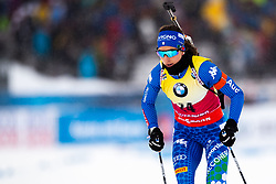 March 8, 2019 - –Stersund, Sweden - 190308 Lisa Vittozzi of Italy competes in the Women's 7.5 KM sprint during the IBU World Championships Biathlon on March 8, 2019 in Östersund..Photo: Johan Axelsson / BILDBYRÃ…N / Cop 245 (Credit Image: © Johan Axelsson/Bildbyran via ZUMA Press)