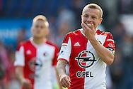 ROTTERDAM, Feyenoord - Ajax, voetbal Eredivisie, seizoen 2014-2015, 21-09-2014, Stadion de Kuip, teleurstelling bij Feyenoord speler Jordie Clasie (R).