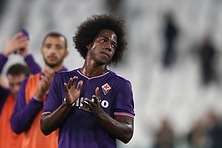 September 20, 2017 - Turin, Italy - Fiorentina midfielder Carlos Sanchez (6) shows dejection after the Serie A football match n.5 JUVENTUS - FIORENTINA on 20/09/2017 at the Allianz Stadium in Turin, Italy. (Credit Image: © Matteo Bottanelli/NurPhoto via ZUMA Press)