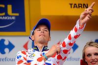 CYCLING - TOUR DE FRANCE 2011 - STAGE 10 - Aurillac > Carmaux (158 km) - 12/07/2011 - PHOTO : JULIEN CROSNIER / DPPI - JOHNNY HOOGERLAND (NED) / VACANSOLEIL-DMC