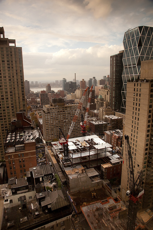 250 W 55th Street NYC <br /> 5th floor in progress<br /> <br /> November 10th, 2011