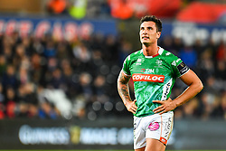 Marco Zanon of Benetton Treviso<br /> <br /> Photographer Craig Thomas/Replay Images<br /> <br /> Guinness PRO14 Round 4 - Ospreys v Benetton Treviso - Saturday 22nd September 2018 - Liberty Stadium - Swansea<br /> <br /> World Copyright © Replay Images . All rights reserved. info@replayimages.co.uk - http://replayimages.co.uk