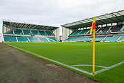 Easter Road Stadium prior to the first qualifying round, 1st leg match between Hibernian and NSÍ Runavik at Easter Road, Edinburgh, Scotland on 12 July 2018. Picture by Malcolm Mackenzie.