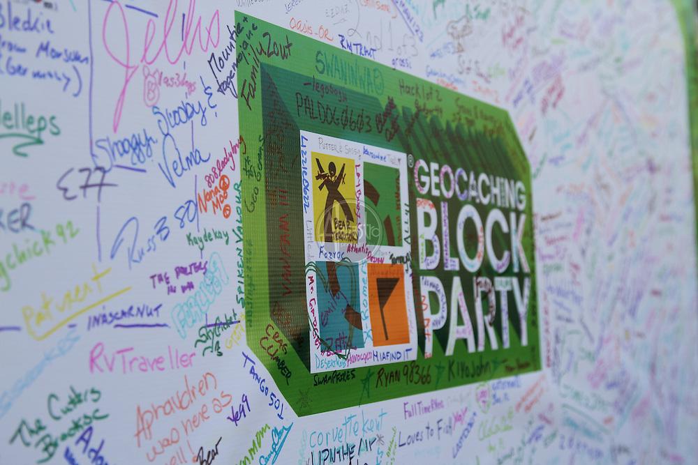 Groundspeak Geocaching Block Party 2011.