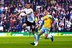 Tom Lawrence of Derby County controls the ball - Mandatory by-line: Ryan Crockett/JMP - 30/03/2019 - FOOTBALL - Pride Park Stadium - Derby, England - Derby County v Rotherham United - Sky Bet Championship