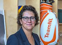 UTRECHT -  De nieuwe NGF President, Caroline Huyskes-Van Doorne .   Algemene Ledenvergadering van de Nederlandse Golf Federatie NGF.   COPYRIGHT KOEN SUYK