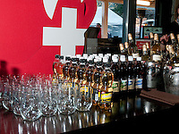 Sponsors donate their products to the House of Switzerland in Whistler for the 2010 Olympic Winter Games