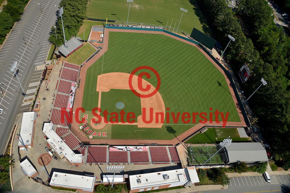Doak Stadium, home of the Wolfpack baseball team.