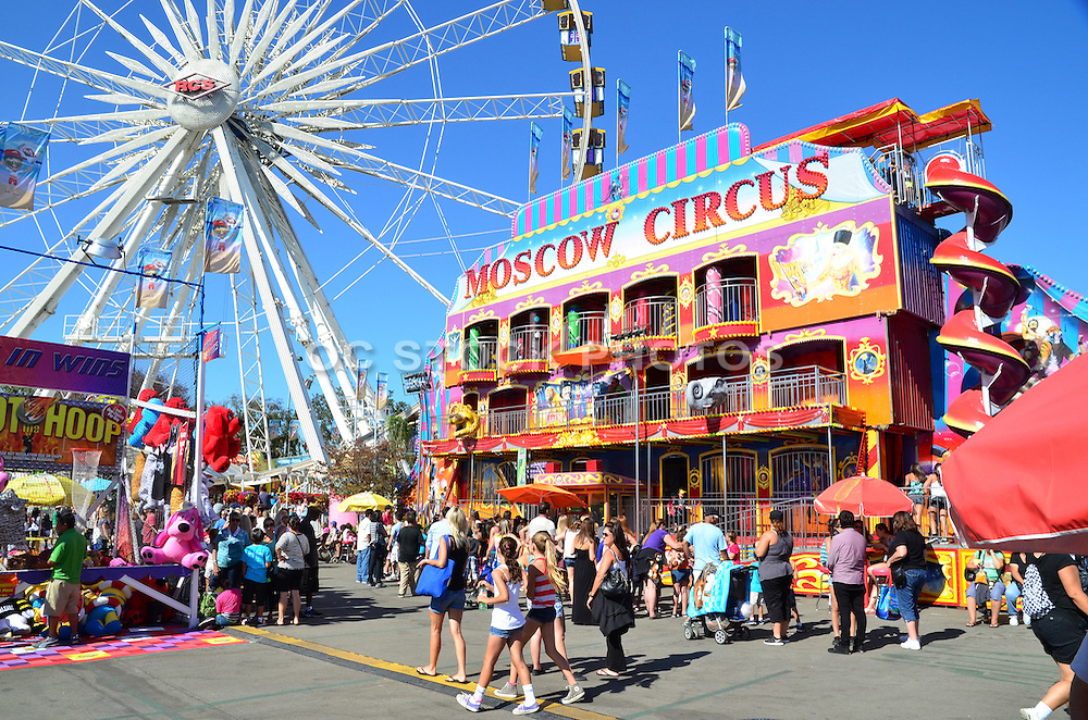 OC Fair Grounds In Costa Mesa