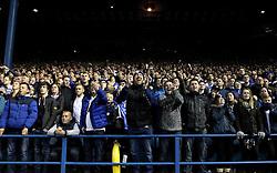 Sheffield Wednesday fans - Mandatory by-line: Robbie Stephenson/JMP - 13/05/2016 - FOOTBALL - Hillsborough - Sheffield, England - Sheffield Wednesday v Brighton and Hove Albion - Sky Bet Championship Play-off Semi Final first leg