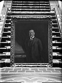 1953 Arthur Griffith - copy picture of Death Mask at Leinster House