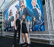 2019, June 17. Pathe ArenA, Amsterdam, the Netherlands. Terry Groenen and Lynn Quanjel at the dutch premiere of Men In Black International.